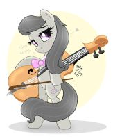 MLP FIM - Octavia Is Ready To Play by Joakaha