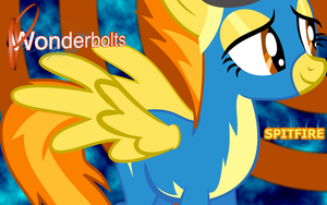 Wonderbolts Spitfire Wallpaper by Lextsy