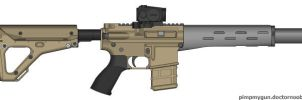 AAC Honey Badger by MacArther
