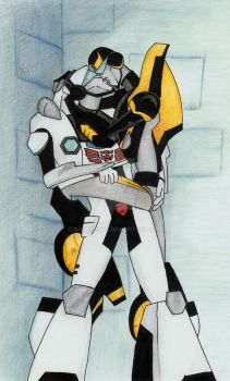 S-Animated Prowl and Jazz by Darkenlite