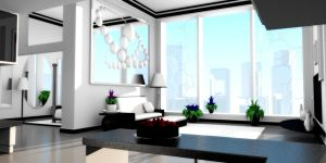 'Dream Apartment' Sideview 1 by flowermuncher