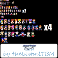 Eternal Fighter ZERO 8 Bit (plus Others) by thebestmlTBM