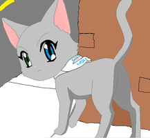 Kisses the Penncat by girlnephilim90