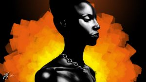 AfroBeauty by Serjiniooo