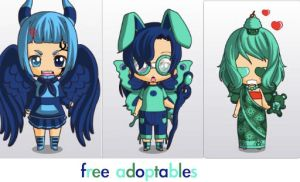 i'm going crazy with the free adopts by ThatAnimeDude