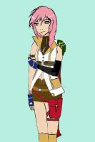 Lightning Farron by MimasMoon