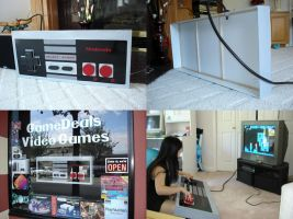Big NES Controller by Eyes5
