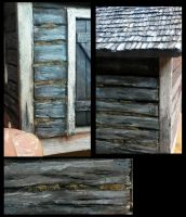 How to paint to look like old log. by Makingscalemodels