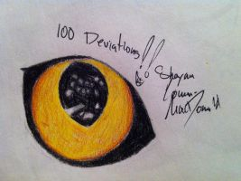 100th deviation :D by Blue-eyed-girl-23