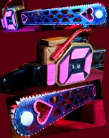Bedazzled Chainsaw by llAngelusll