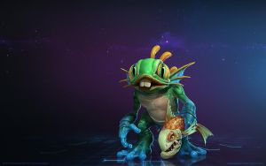 Murky, Baby Murloc by Mr--Jack