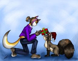 Merry Christmas 08 by Scrat-Riker