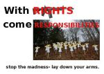 Rights and Responsibilities by Pooleside