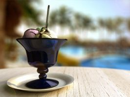 Ice Cream at Beach by UnReaL4