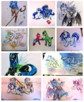 Babscon 2014 Commissions by slifertheskydragon