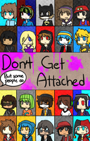 Don't Get Attached | Dangan Ronpa/MC YouTuber AU by CaeruliaAutumnale