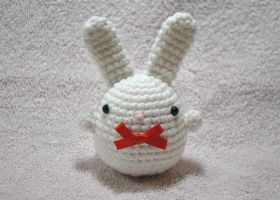 Eggy Bunny by craftyhanako