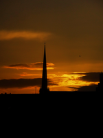 Sunset in Glasgow -1- by IoannisCleary