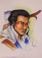 Connor (COPIC fast pic) by AngieBlues
