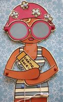 Swimmer - Paper doll by coco-flower