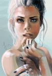 Speedpaint - Portrait by revois