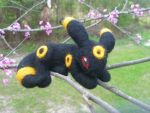 Umbreon Felted Alt View by TheHarley