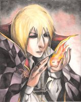 Howl and Calcifer by 150millionraindrops