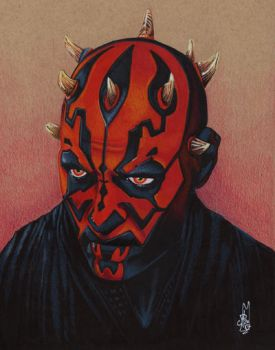 DARTH MAUL PHANTOM MENACE by ARTIEFISHEL79