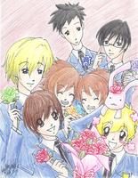 Ouran High School Host Club by Jisu-hime