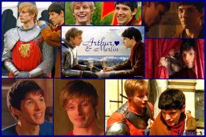 Arthur+Merlin background :D by LiannexSupernatural