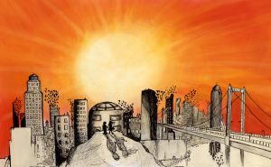 Get into the Sunrise by PropaGandhi101