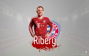 Franck Ribery Wallpaper by elifodul