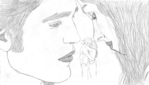 Edward and Bella (Twilight.Eclipse) by LauGy17