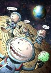 Space and Ice Cream by Si2