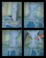 Shiny Mew Plush by PokemonMasta