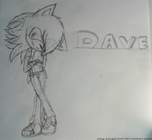 .:.:Gift: Dave the hedgehog :Sketch:.:. by Yin-YangJewel