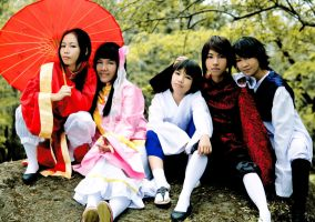 East Asia Family by Animaidens