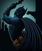 The Dark Knight by PeterMan2070