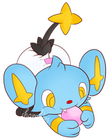 PokePadded - Shinx (Request) by the--shambles