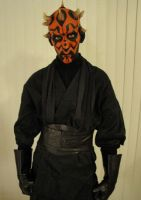 Halloween 2010 Darth Maul by KumaBearoso
