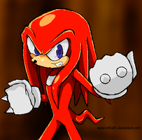 Knuckles Doodle - 01 by Miha85