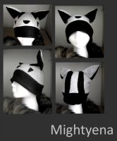 Mightyena Hat by wingedfox111