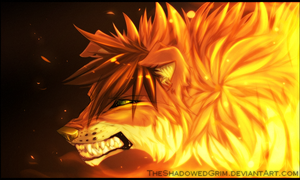 Burning :commish: by TheShadowedGrim