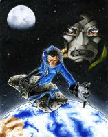 Reed Richards vs The Universe by RichardCox