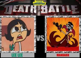 Dexter's Lab Death Battle: LeeLee vs. Mandark by timbox129