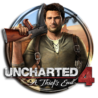 Uncharted 4 Icon by Troublem4ker