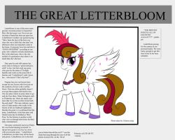 Letterbloom request by chineseninja