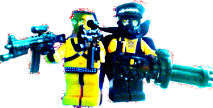 Lego Minifigure Misx and Match 2014 by tentabrobpy