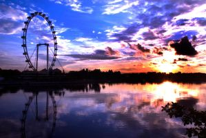 Singapore Flyer by ruinlord