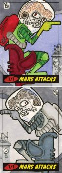 Mars Attacks Heritage  - Martians Approaching by 10th-letter